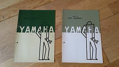 YAMAHA  YD2 250 vintage 1959 1960 1961 body and engine assembly / Wiring diagram
