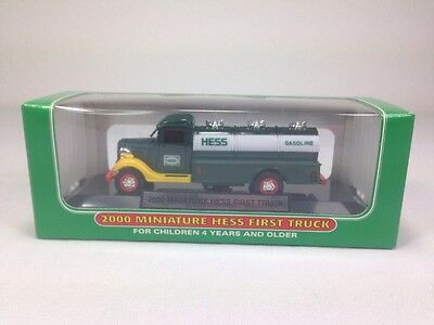 2000  Hess Mini First Truck  Tanker / New In Box /