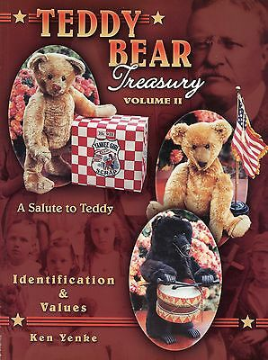Teddy Bear Collectibles - Identification Makers Dates / Illustrated Book +Values