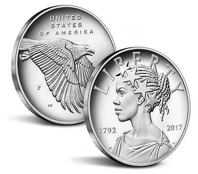 2017-P American Liberty Silver Medal 1 oz .999 Silver High Relief Proof Coin