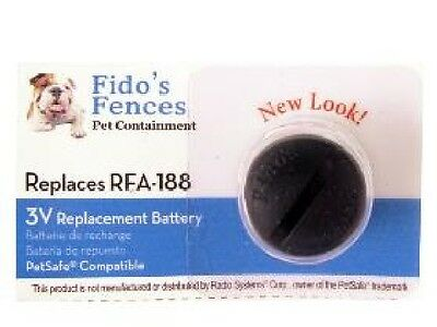 2-Pack RFA-188 PetSafe Compatible Fence & Dog Collar Lithium Batteries