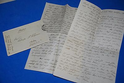 1918 World War, German Captain Field Post Vintage old Letter WWI, Antique L73
