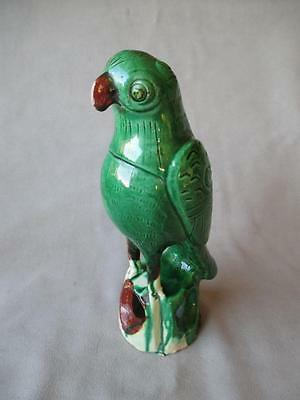"Fabulous Chinese Ceramic ""parrot"" Roof Tile / Finial"
