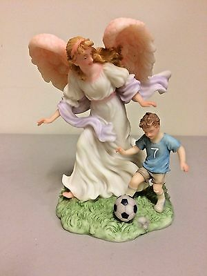 """Seraphim  """"Angels To Watch Over Me"""" 7th Year Boy. Soccer Boy.  #81468 with COA"""