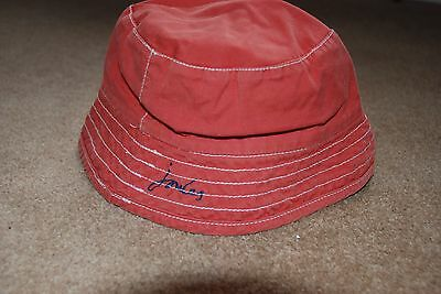 2 Children's Joules Sun Hats Red/Blue/Grey