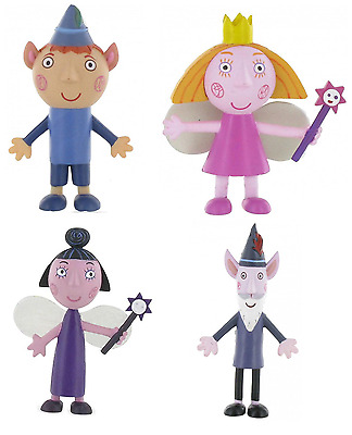 Official Comansi Ben And Holly's Little Kingdom Figures Toys Cake Topper Toppers