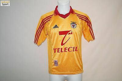 Benfica 1998 - 1999 Away Adidas Football shirt SIZE S