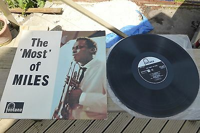The 'Most' of Miles Davis Fontana 1st Press TFL 5089 Rare UK LP