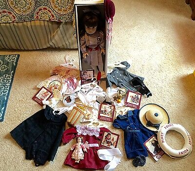 Amercian Girl Doll Pleasant Company Vintage Samantha Doll PLUS Clothes and Shoes