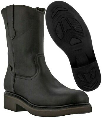 aad4a1cc112 WOLVERINE MEN'S RANCHERO Steel-Toe Wellington Construction Boot ...
