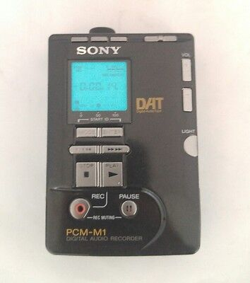 Sony PCM-M1 DAT Walkman Recorder
