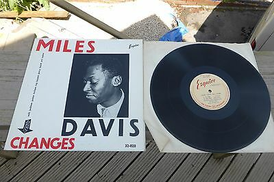Miles Davis - Changes 1st Press Esquire RVG DG 32-028 Rare UK LP