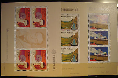 Europa Cept  1983 Portugal-Madeira Y Azores Mnh**