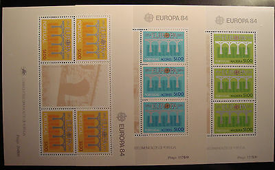 Europa Cept  1984 Portugal-Madeira Y Azores Mnh**