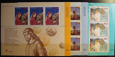 Europa Cept  1997 Portugal-Madeira Y Azores Mnh**