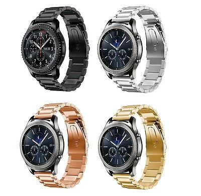 Für SAMSUNG Gear S3 Classic Frontier Edelstahl Milanese Band Uhr Armband Adapter