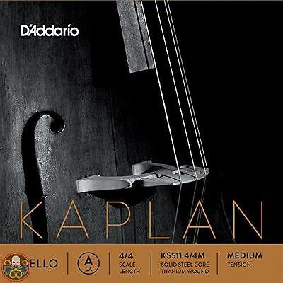 Kaplan Tg: Medio 4/4 Cello A String - Medium Gauge Japan Import Nuovo