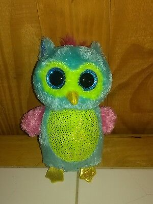 TY Beanie Boo Opal the Owl - Justice Store Exclusive boo - No hang tag