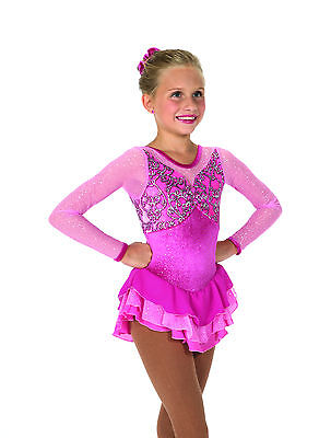 New Jerrys Competition Skating Dress 38 Pretty In Pink Made on Order
