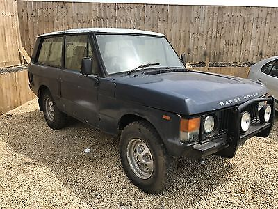 1981 Range Rover 2 door Rare classic barn find 76K very solid