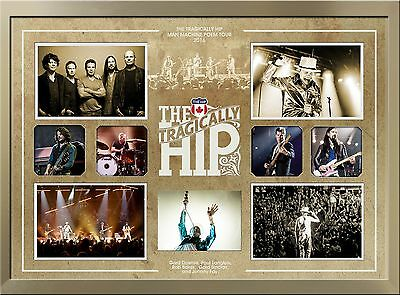 The Tragically Hip Framed Multi Photo Collage