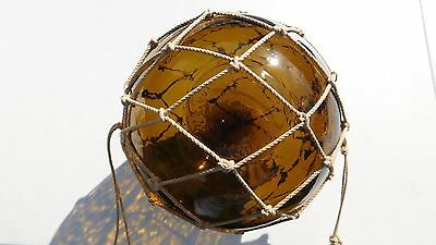 "Vintage Genuine ""Made In Czechoslovakia"" Marked Glass Float"