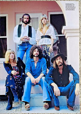 Fleetwood Mac - Full Page Magazine Picture Cutting - RARE