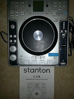 Stanton C.314 Professional Tabletop Cd Player