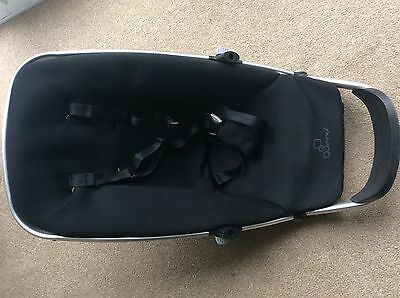 QUINNY  Buzz SEAT UNIT/ FRAME  with COVER   newborn to 4 years in black