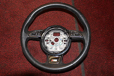 Audi A7 A1 A6 C7 4G S Line F1 Paddle Shifts Leather Multifunction Steering Wheel