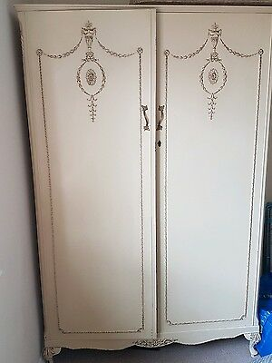2 large Harrods louis style wardrobes