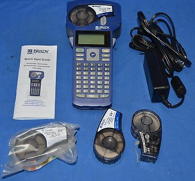 Brady BMP21 Label Maker with Case, Power Cord, 3 Cartridges