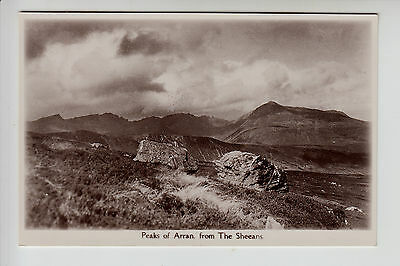Scotland/Islands: Peaks of Arran from The Sheeans - RP PC (1542)