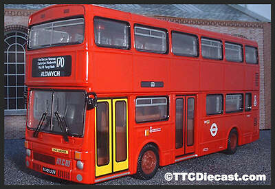 CORGI 45105 MCW Metrobus II London Buses - Wandle District - Route 170 Aldwych
