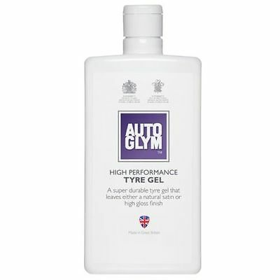 AUTOGLYM HIGH PERFORMANCE TYRE GEL 500ML Free P & P