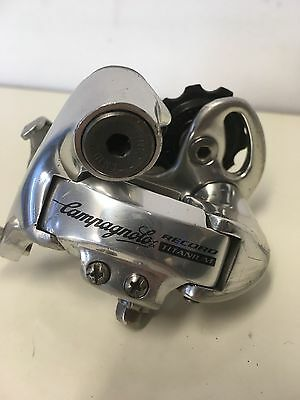 Campagnolo Record Titanium Rear Derailleur, Good Condition