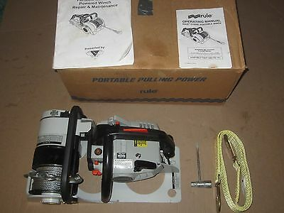 New / Used ?? Rule Echo Gas Powered Winch G1800E gasoline chainsaw chain saw