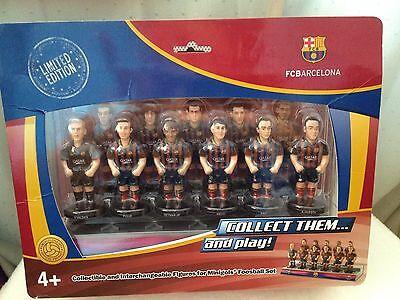 Minigols Foosball Barcelona & Manchester United Collectible Limited Edition