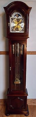 Grandfather Clock - exc cond/exc working order/Kieninger Wchime/autonight off