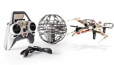 Air Hogs Star Wars Rebel Assault X-Wing VS Death Star Remote Controlled Drones