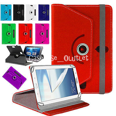 """Folio Leather  7 Inch Universal For Samsung Galaxy Tab 2/3/4 Hudl 7"""" Case Cover"""