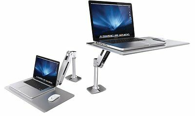 Ergotron Workfit-P sit-stand height adjustable workstation