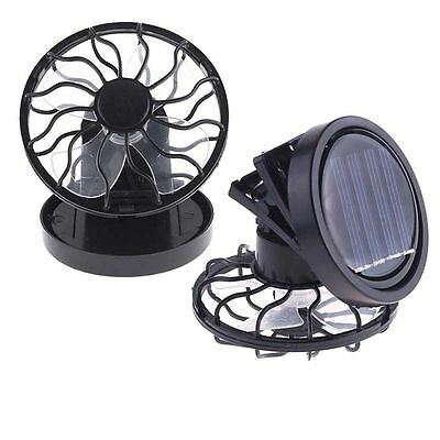 Sun Portable Travel Camping Cell Fishing Fan Cooling Solar