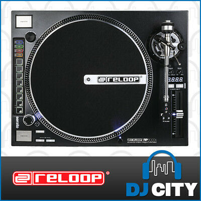 RP-8000ST Reloop Direct Drive DJ Turntable with MIDI - DJ City Australia