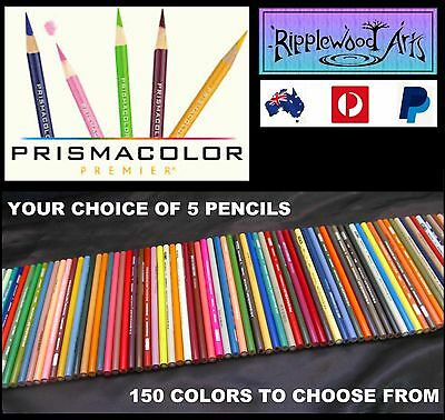 PRISMACOLOR PREMIER Colored Pencils - (150 Colors to choose from) - 8 Pencils