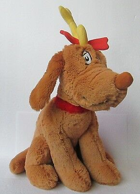 KOHL'S MAX HOW THE GRINCH STOLE CHRISTMAS PLUSH DOLL, Dr. Seuss