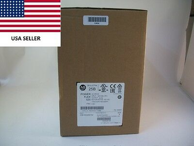 *Ships Today* 2017 Allen Bradley 25B-D030N104 Power Flex 525 Drive New 20HP