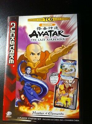 Avatar The Last Airbender TCG Card Game  2-player Starter Set