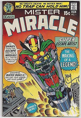 Mister Miracle #1 (Apr 1971, DC) Kirby [1st appearance] VF-