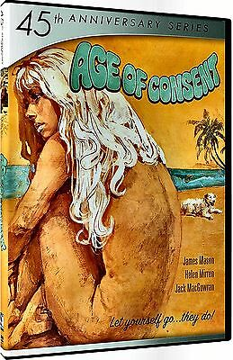 NEW DVD // AGE OF CONSENT - James Mason, Helen Mirren, Jack MacGowran, Neva Carr